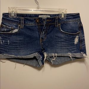Aeropostale juniors jean shorts
